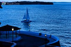 Azul da cor do mar (thaynahfotografia) Tags: blue sea brazil azul photography fotografia maranho maranhao saoluis