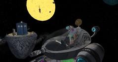 Look! Mice on the moon! Eeek! (KaylaWoodrunnerSL) Tags: secondlife twisted blahblahblah kittycats 3dtrees vanityhair wowskinsshapes arwenswordthain victornight halberkmans gearsoffashion loralemon foreverdoctor sl13thbirthdaycelebration