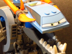 Silly Sally sits and sorts her slopes (monsterbrick) Tags: lego sally moc