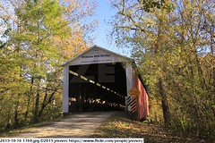2015-10-16 1160 (Badger 23 / jezevec) Tags: pictures travel bridge vacation tourism arquitetura architecture rural america puente photography photo arquitectura midwest unitedstates image photos indiana images ponte american covered coveredbridge architektur pont brug thingstodo brcke   architettura architectuur arkitektur 1100  destinations midwestern architektura silta   arhitektura ponticello pontcouvert  pontecoberta        arhitektuur overdektebrug   lvka puentecubierto berdachtebrcke stavebnictv overdkketbro katettusilta    dekketbroen pokrytemostu  omfattasbro