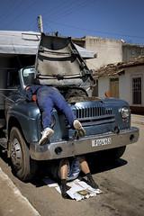 Cuba (francescatorracchi) Tags: street car cuba streetphotography documentary streetlife together ironic vinales streetpeople fujix x100s francescatorracchi
