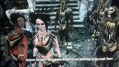 Lenneth Agregando ao time de ndios em Skyrim (Lucknyu) Tags: tribo skyrim lenneth gameplay lucknyu