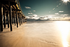 Golden Way (paulo007) Tags: longexposure sea golden pier sand surf nj flare rb oceangrove