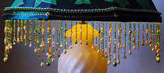 Ivy's fringe (Lamporium Louise) Tags: light lamp fashion misty vintage scarlet design ivy australia fringe sally bead tina esther pearl swarovski lamps roxy gem twyla redcentre homewares teah lakeboga swanhill lamporium louisemacaulay