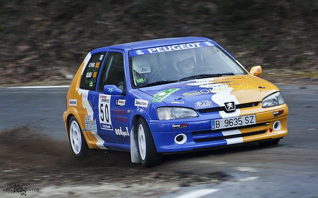 15º Rallysprint Sant Julià 2012 - Oscar Flores / Eduard Puig - Peugeot 106 Rallye S20 - Escuderia Penedès Competicio