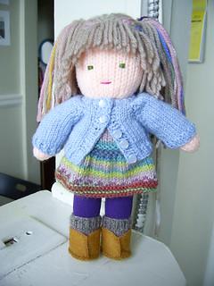 Ravelry: Knitted Waldorf Doll pattern by Beth Ann Webber