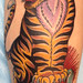 circus tiger tattoo
