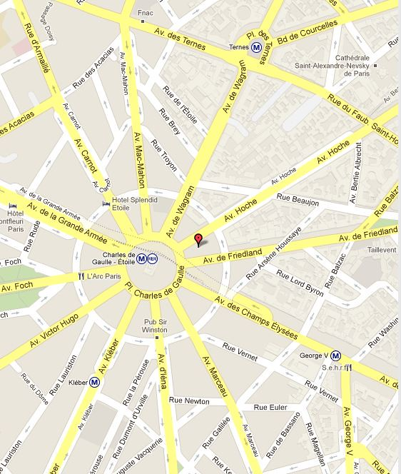Paris-near-Pl. Charles de Gaulle-Av.Hoche