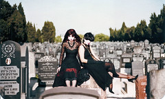 Margo and Alice (alice_bag) Tags: goth postpunk alicebag