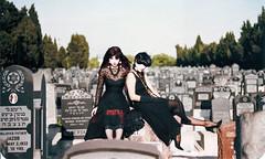 Margo and Alice (alice_bag) Tags: goth postpunk alicebag