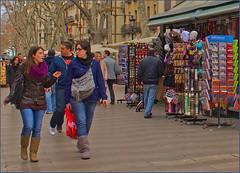 A Stroll down Las Ramblas (ros v) Tags: barcelona winter spain lasramblas