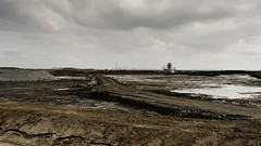 Industrial landscape, Thames Estuary, London