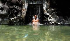 1252 | It's hip to be square | Bali Hyatt (Sanur), Goa Gajah Pool (Stewart Leiwakabessy) Tags: portrait selfportrait me self project myself square stewart squareformat weeks weekly 52 2011 leiwakabessy stewartleiwakabessy i