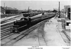 L&N SW1 14 (Robert W. Thomson) Tags: railroad train diesel kentucky railway trains louisville locomotive trainengine sw1 switcher ln switchengine emd louisvilleandnashville fouraxle endcabswitcher