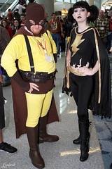 Catman and Mary Marvel (Vim Trivium) Tags: costume cosplay anaheim comicconvention catman wondercon marymarvel wondercon2012 macbeauvais