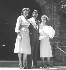 BeaJoeMike_Bapt. (Easttexchem) Tags: family fashion vintage style 1954 baptism anderson devon 1950s