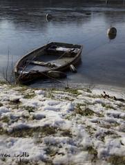 barque prise dans la glace (la svre Nantaise) (lej - http://lej.free.fr) Tags: ice boat barca barco hielo glace barque ghiaccio