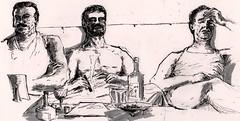 Hangover mornings (Jim_V) Tags: morning sketch hangover doodle brushpen dippen nibpen