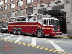 FDNY - NEW Rescue 1- 2/14/12 (FDNY8231) Tags: new york 2001 city nyc rescue usa ny bus tower port truck fire 1 4 authority rear 911 engine nypd 11 terminal aerial september mascot mount company mat ferrara ladder q emergency firefighter 54 federal fdny department siren dalmatian tiller dept seagrave response haz kfd esu responding code3 sfb mcfd ctfd hd77