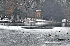 Small frozen pond  [EXPLORE] (Riccardo Brig Casarico) Tags: lake ice wow lago inverno freddo brig ghiaccio riki brigrc