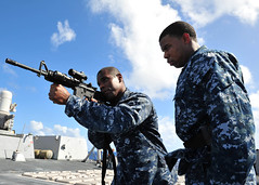 Sailors conduct VBSS training. (Official U.S. Navy Imagery) Tags: unitedstates military navy pacificocean usnavy wwwfacebookcomusnavy