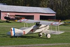 Old Rhinebeck Aerodrome, Rhinebeck NY (dkjphoto) Tags: travel usa newyork france tourism museum airplane french fly flying airport tour antique aviation country flight tourist northamerica rhinebeck aerodrome spad oldrhinebeckaerodrome dennisjohnson wwwdenniskjohnsoncom