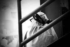 متعبة أنا .. كـ طائر جريح ، وحزينة .. بـ صدق أنا حزينة ، ! (Aljazi Al-Akoor) Tags: woman white black canon makkah d550 aljazi abdelmohsen