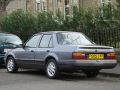1989 Ford Orion 1.6i Ghia (GoldScotland71) Tags: ford orion 1989 1980s ghia 16i f505otf