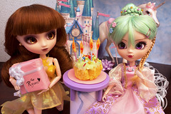 Ryuko's Fairytale Birthday Party! (Mariko&Susie) Tags: birthday party cake canon t eos rebel bash kiss doll dolls princess contest fairy cupcake planning 600 pullip tale jun t3i x5 coolcat akoya 600d obitsu eyechips adsiltia marikosusie pulliptography