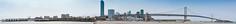 pier 30 panorama (pbo31) Tags: sanfrancisco california city bridge blue urban panorama color northerncalifornia skyline spring construction nikon large panoramic baybridge bayarea april 80 southbeach stitched 2012 pier30 d700