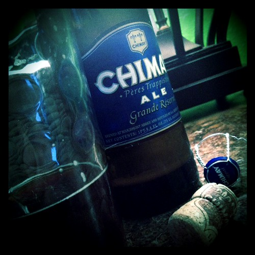 Chimay Grande Reserve @home