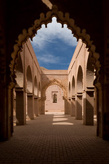 Tin Mal Mosque (Daveybot) Tags: travel red vacation brown holiday brick architecture honeymoon mosque morocco earthy maroc tinmal almohad tinmel tinmalmosque almohads