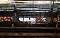 JA (S C R A T C H I E S) Tags: nyc graffiti ja xtc teck jaone