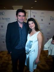 Chris Weitz and Wife Mercedes Martinez