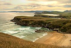 Haywards Point (NathanaelBC) Tags: ocean sunset sea newzealand beach canon penguin coast otago dslr hdr 400d canonef2485mmf3545usm