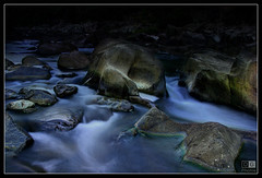 Stream, Cataract Gorge (darreng2011) Tags: longexposure water night canon dark eos lowlight rocks stream tasmania hdr launceston cataractgorge 600d duckreach mygearandme dblringexcellence flickrstruereflection1 flickrstruereflection2 flickrstruereflection3