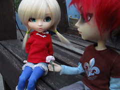 The Attempt: Part 2:5 (hillary795) Tags: doll lily pullip hash pullipdoll taeyang taeyanghash celisy pullipdollcelisy taeyanghashdoll