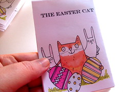 The Easter Cat Zine (Heidi M Mcdonald) Tags: zine easter easterrabbit artzine minizine heidim catzine littlenore