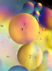 Life in a Bubble (Theresa Elvin) Tags: abstract water rainbow bubbles refraction oil colourful blinkagain