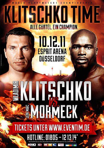 Wladimir Klitschko vs. Jean Marc MORMECK