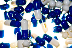 Cymbalta (KristyR929) Tags: blue explore drugs mysterious pills medication antidepressant cymbalta msh0614 macromondays msh061411