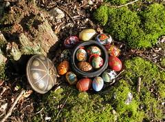Eostre Eggs (Thorskegga) Tags: uk english festival easter egg goddess ceremony british ritual rite saxon norse anglo blot heathen ostara heathenry eostre