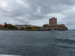 Willemstad, Curaao (Stefan Peerboom) Tags: cloud day cloudy curacao curaao willemstad annabaai