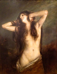 Voluptas, Franz von Lenbach (1836-1904) (Tiz_herself) Tags: seattle museums 2012 fryeartmuseum iphone vonlenbach