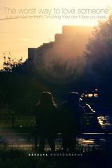 (BatzayaB) Tags: sunset love evening fight nikon couple silhuoette flickraward d7000