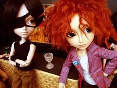 Tatsuha y Mad - Alabama song (Lunalila1) Tags: gay music black club outfit track hole wig link yaoi mad soundtrack hatter kain alberic taeyang bandasonora tatsuha