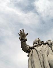 Louis in Louisville (elycefeliz) Tags: sculpture france statue french hand kentucky montpellier gift louisville louisxvi
