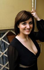 Napoleon Girl. (inka7791) Tags: sexy girl beautiful beauty fashion eyes boobs moda lips bellezza ragazza cleavege scollatura