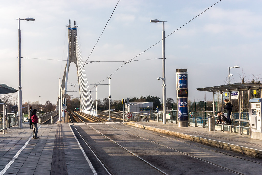 Luas Stop In Dundrum