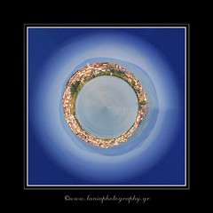 My Own Planet... (ktania) Tags: blue sky mountain lake color art colors canon landscape photo flickr raw cityscape greece estrellas planet tamron hdr own photographyart artphotography kastoria landscapephotography 400d canon400d flickraward kardpostal taniaphotography ownplanet tamron18250f35 taniakoleska ktania